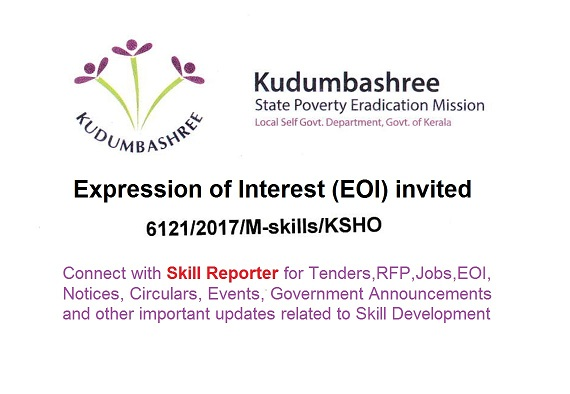 Kudumbashree invites expression of interest eoi for skill kudumbashree invites expression of interest eoi for skill development training of 9000 kerala youth thecheapjerseys Gallery